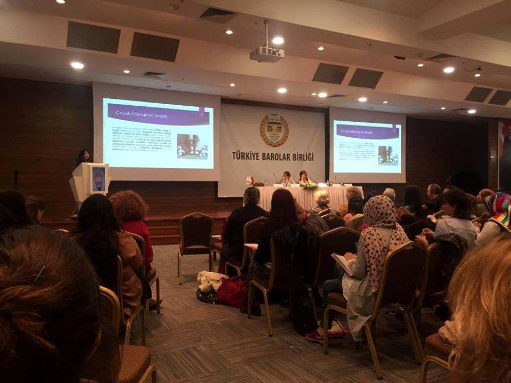 Uluslararası Çocuk Koruma Kongresi'nde ST Kolej Farkı