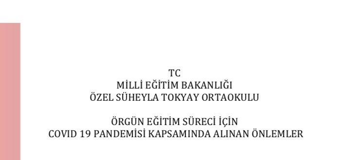 COVID19 ÖNLEMLERİ